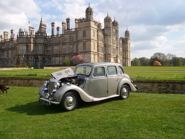 MG Car Club Lincolnshire Burghley House Rally Drive Your Classic Day 26th April 2015.