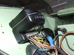 The RB106 control box fitted from YB0326.