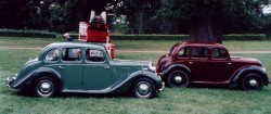 Comparison between the Y Type and the Morris 8 Series E.